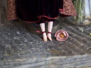 Дополнительные фотографии авторской куклы Рут. Ярмарка Мастеров - ручная работа, handmade.