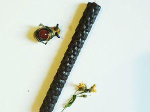 Черные свечи снова в наличии!. Ярмарка Мастеров - ручная работа, handmade.