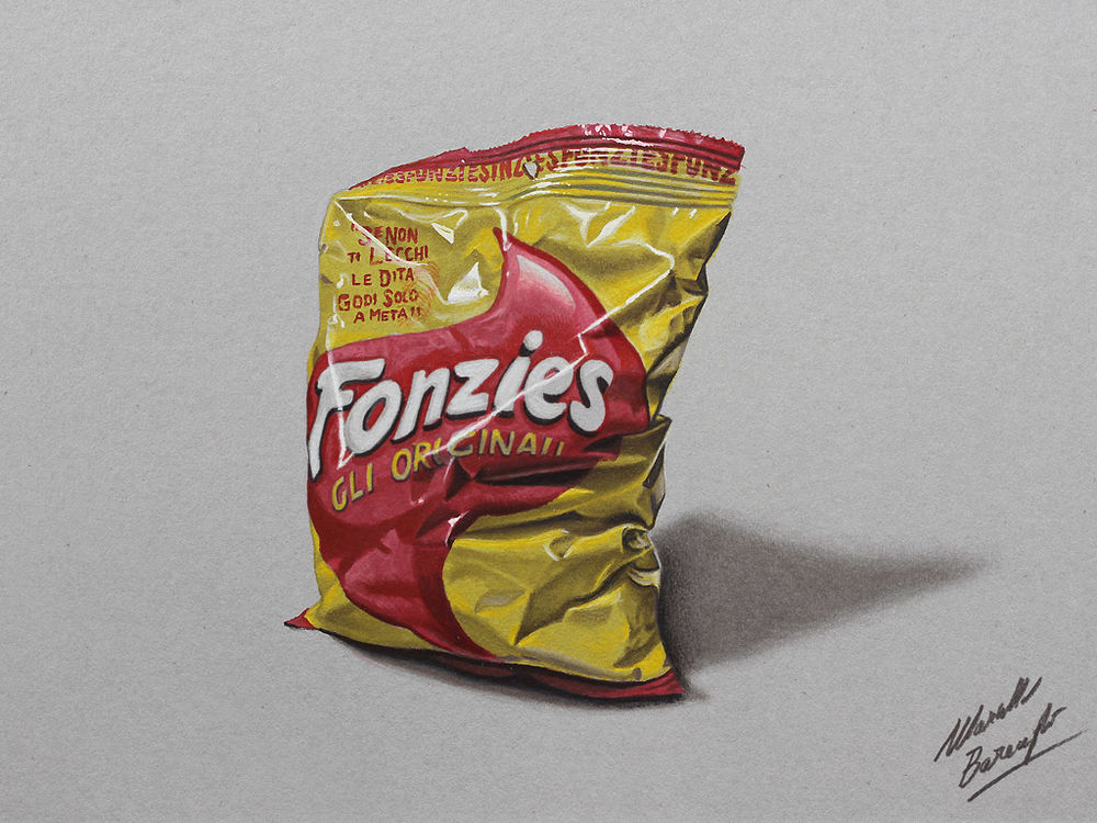 Amazing Hyperrealism by Artist Marcello Barenghi, фото № 17