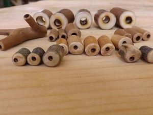 Просто бусины. Из дерева. Больше фото и примеры использования. Ярмарка Мастеров - ручная работа, handmade.
