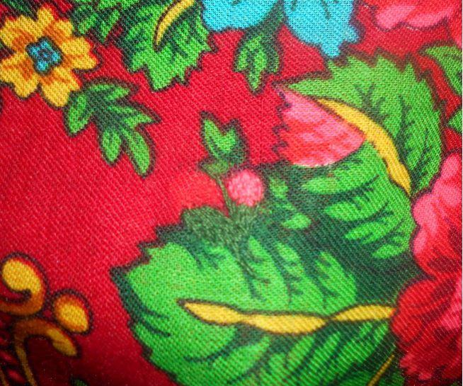 павловопосадские платки, художественная штопка