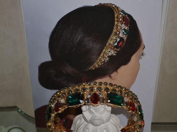 Crown   Emerald- 2 в стиле Dolce&gabbana | Ярмарка Мастеров - ручная работа, handmade