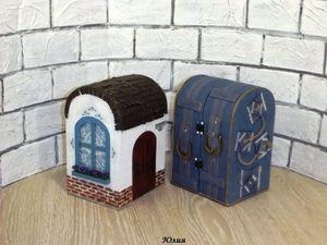 Делаем домик-кофр для игрушки | Ярмарка Мастеров - ручная работа, handmade