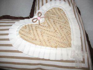 Розыгрыш декоративной подушки в виде сердца - к 14 февраля! Приглашаю всех! | Ярмарка Мастеров - ручная работа, handmade