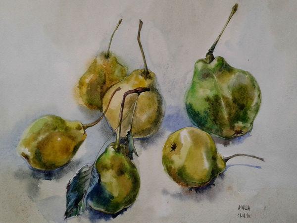 Ура! Новая картина и новые фрукты! | Ярмарка Мастеров - ручная работа, handmade