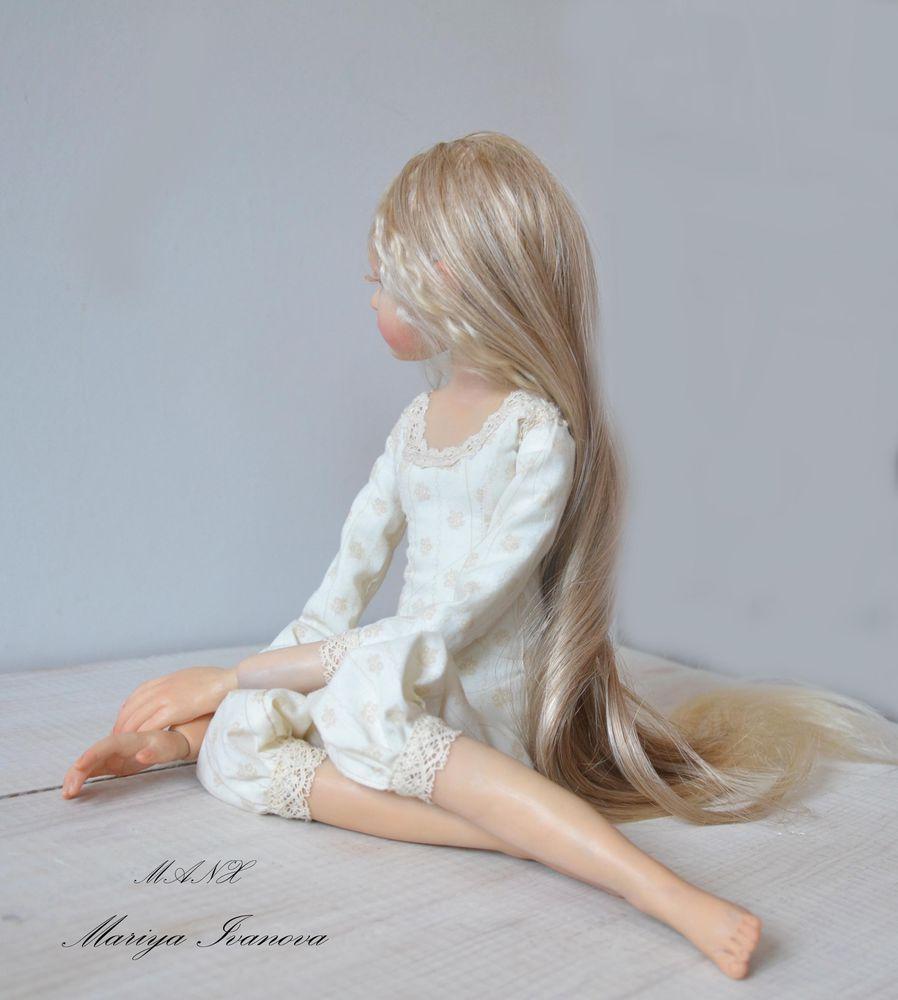 кукла с текстильным телом