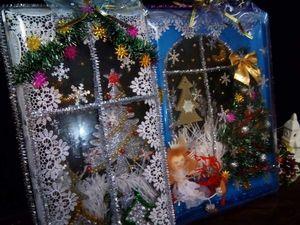Идея новогодней поделки для школы. Ярмарка Мастеров - ручная работа, handmade.