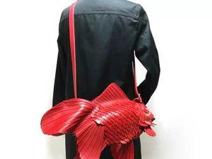 Фантастические сумки от японского дизайнера Ивакири | Ярмарка Мастеров - ручная работа, handmade