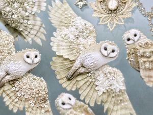 Анонс новых украшений — Совы Сипухи. Ярмарка Мастеров - ручная работа, handmade.
