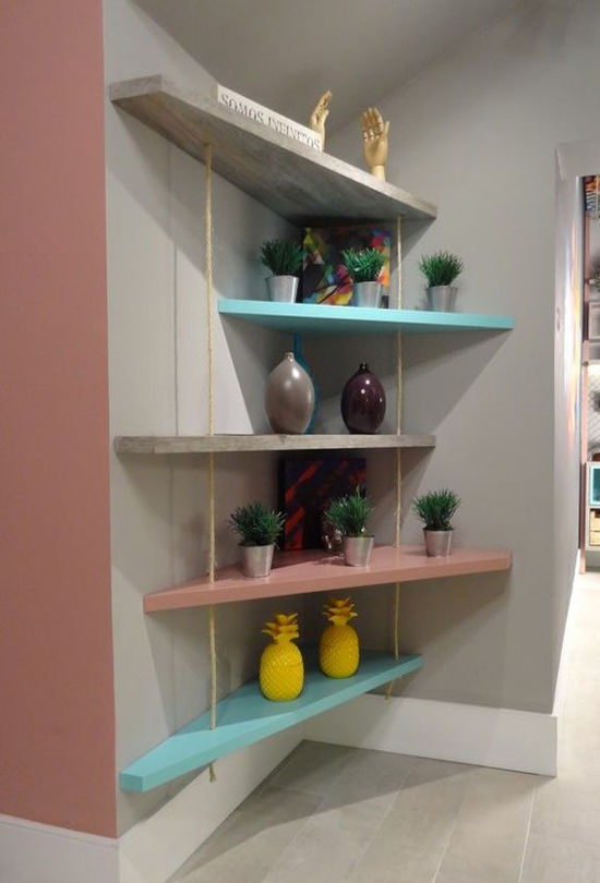 Simple and Budget Ideas for Home: Open Shelves and Ways of Mounting, фото № 6