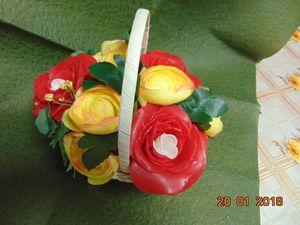 Создаем букет с красными розами-мыло. Ярмарка Мастеров - ручная работа, handmade.