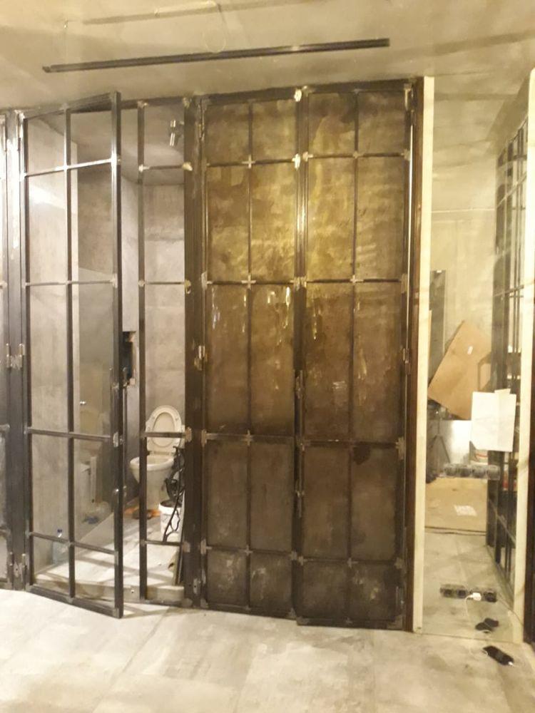 перегородка в стиле лофт, loft peregorodka, перегородки в стиле лофт, лофт стиль, зонирование пространства, перегородка в гарберобню