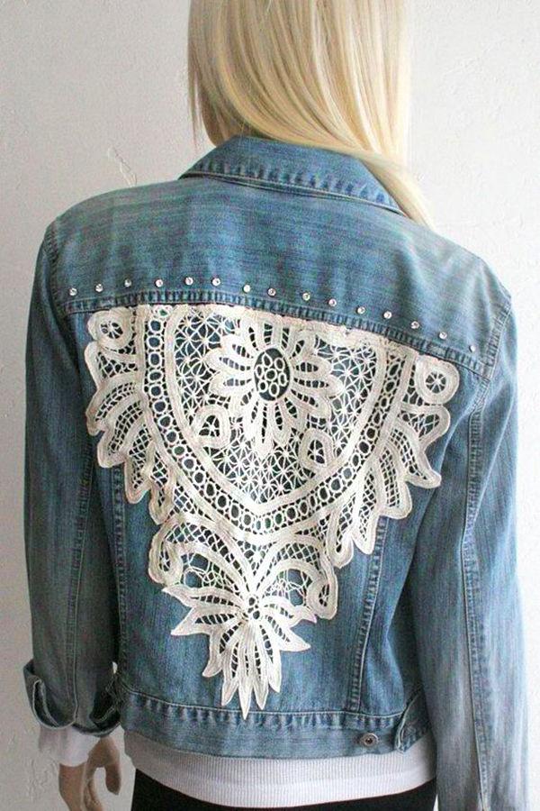 50 diverse ideas of denim jackets decor livemaster - Decor discount st jean de vedas ...
