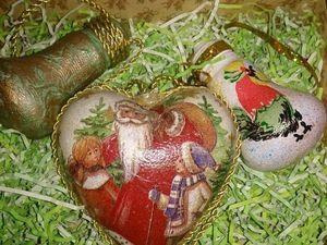 Розыгрыш набора елочных игрушек. Приглашаю всех желающих.. Ярмарка Мастеров - ручная работа, handmade.