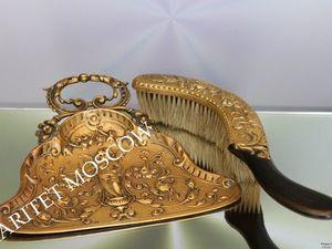 РАРИТЕТИЩЕ Совок щетка ангел латунь бронза 1 | Ярмарка Мастеров - ручная работа, handmade