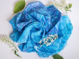 Платки и шарфы по вашему заказу   Ярмарка Мастеров - ручная работа, handmade