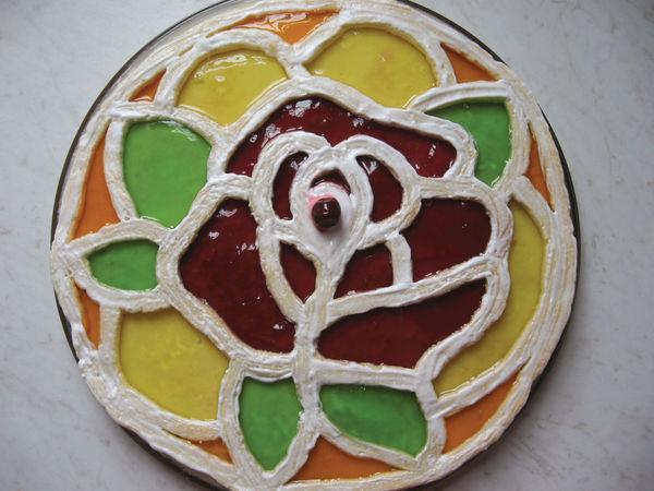 Торт-витраж   Ярмарка Мастеров - ручная работа, handmade