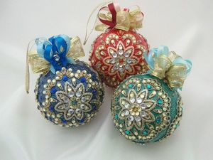 Набор новогодних шаров (1). Фотоотчет для Татьяны. Ярмарка Мастеров - ручная работа, handmade.