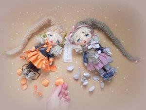 2 куколки. Аукцион. Ярмарка Мастеров - ручная работа, handmade.