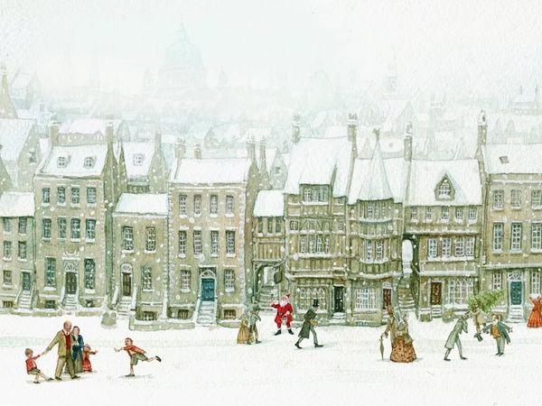 Рождественские сказки от иллюстратора Patrick James Lynch | Ярмарка Мастеров - ручная работа, handmade