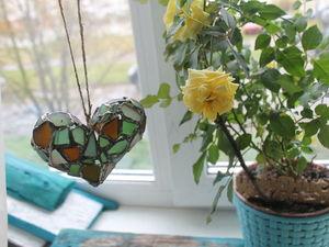 Сердце из морского стекла из Одессы!. Ярмарка Мастеров - ручная работа, handmade.