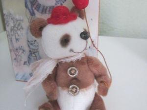 Новый мишка - Мистер Петифу.. Ярмарка Мастеров - ручная работа, handmade.