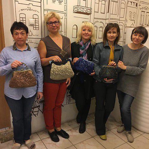 Мастер-класс по театральным сумочкам Елены Найденовой