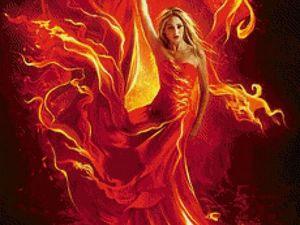 Новое сотворение Огненный Цветок. Ярмарка Мастеров - ручная работа, handmade.