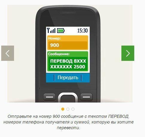 мобильный перевод сб
