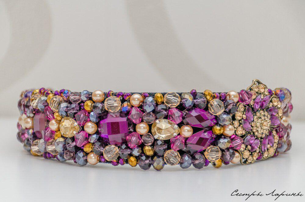 пурпурный, новинка магазина, ободок, в стиле дольче, диадема