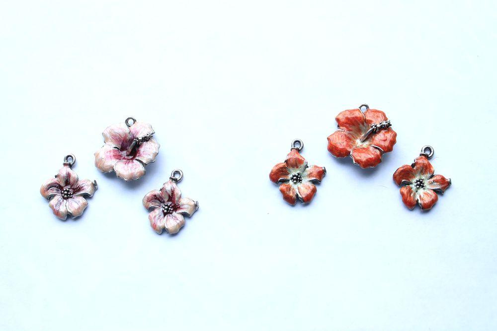 эмаль, эмаль украшения, коннекторы, коннектор, коннектор эмаль, цветок, цветы, акция магазина, акции и распродажи, распродажа, новости магазина, новость магазина, коннектор цветок