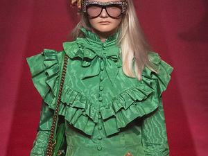Любовь к рюшам: модные тенденции Недели моды в Милане. Ярмарка Мастеров - ручная работа, handmade.