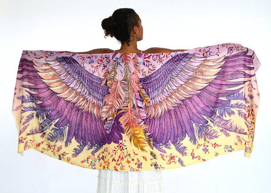 Когда вырастают крылья: завораживающие палантины Розы Хамитовой, фото № 10