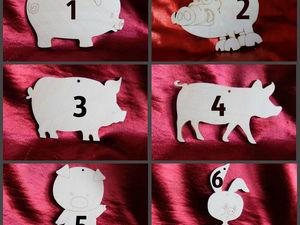 Новинки к следующему Году Свиньи. Ярмарка Мастеров - ручная работа, handmade.