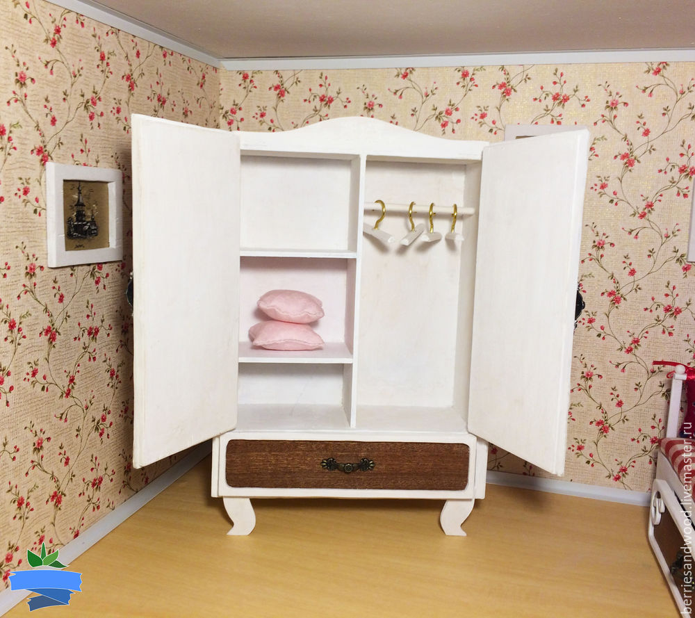Шкафы для куклы своими руками 86