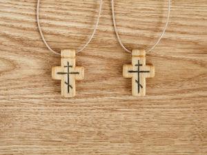 "Два крестика ""Минея"". Ярмарка Мастеров - ручная работа, handmade."
