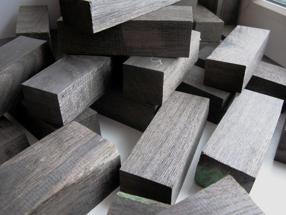 мореный дуб, уникальный материал