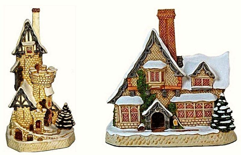 Сказочные домики от David Winter