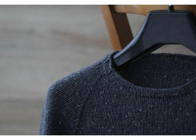бесшовный пуловер, seam, вязание