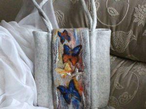 Валяем сумочки из кардочеса 28 апреля. г. Москва | Ярмарка Мастеров - ручная работа, handmade
