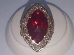 Видео золотого кольца с рубином. Ярмарка Мастеров - ручная работа, handmade.