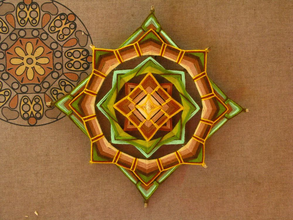 Плетение мандалы. - Ярмарка Мастеров - ручная работа, handmade