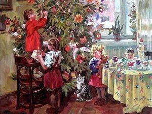 Новый год в сельской школе!!. Ярмарка Мастеров - ручная работа, handmade.