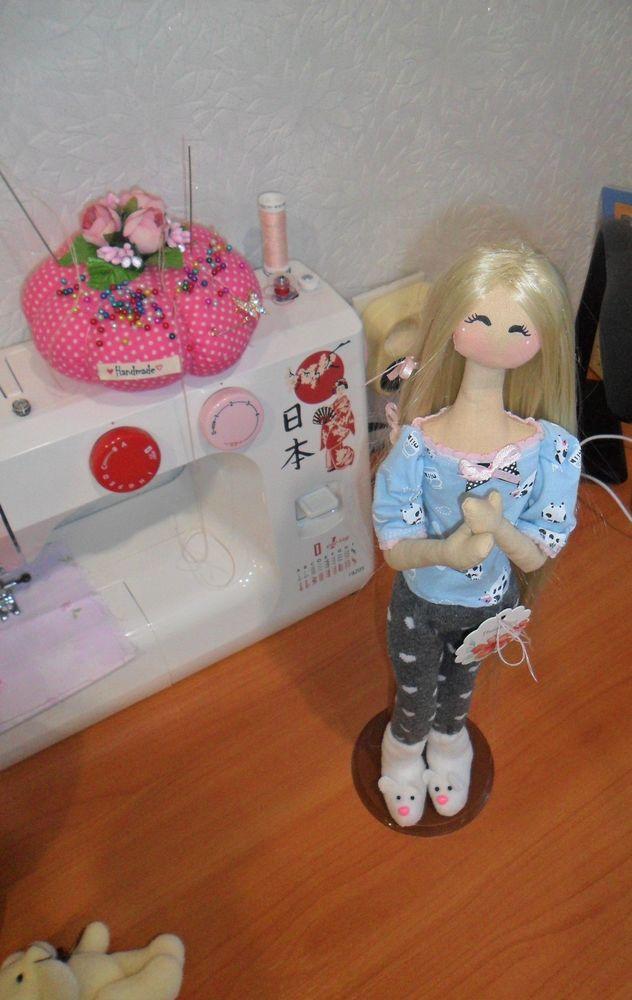 интерьерная кукла, тряпиенса
