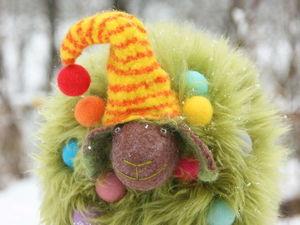 Новогодняя елка, а может овечка? Два в одном))) И еще с музыкой! Три в одном!!!. Ярмарка Мастеров - ручная работа, handmade.
