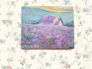 Любителям живописных пейзажей с Провансом...   Ярмарка Мастеров - ручная работа, handmade