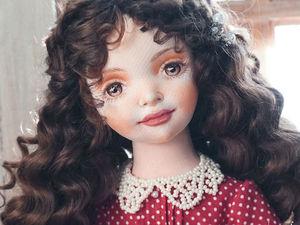 Авторская текстильная кукла, Агата. Ярмарка Мастеров - ручная работа, handmade.