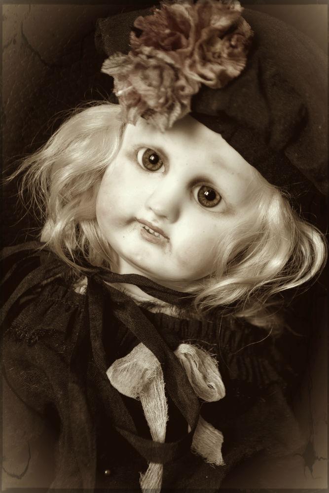 антикварная кукла, антикварная головка