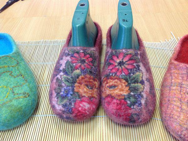 Отчет об МК по домашней обуви. | Ярмарка Мастеров - ручная работа, handmade