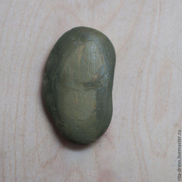 Как сделать из обычного камня обаятельного ёжика, фото № 3